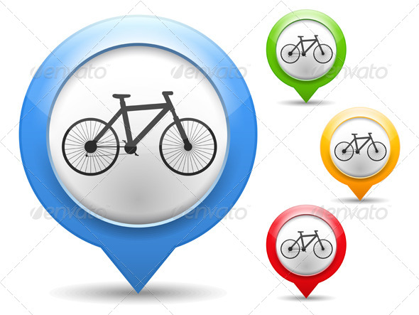 GraphicRiver Bicycle Icon 4409229