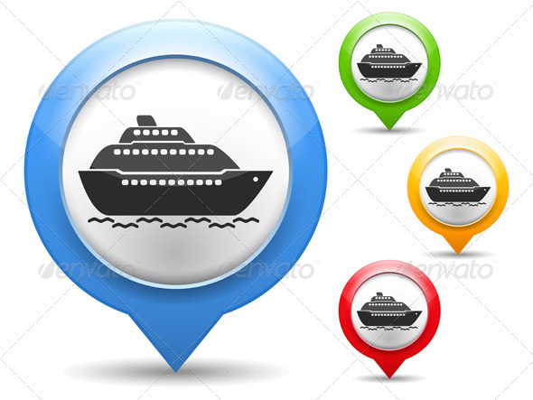 GraphicRiver Ship Icon 4409248