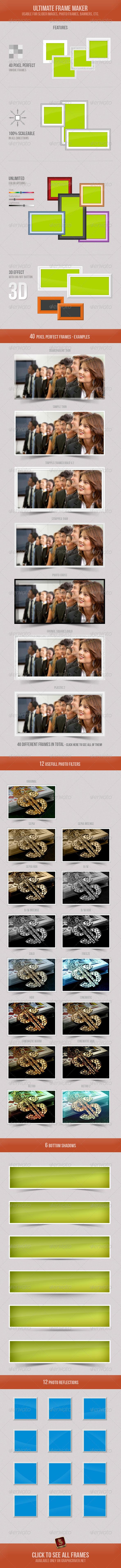 GraphicRiver Ultimate Frame Maker 4409267