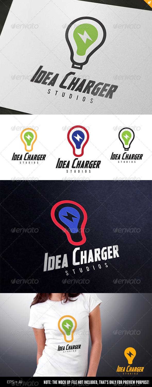GraphicRiver Idea Charger Logo 4409313