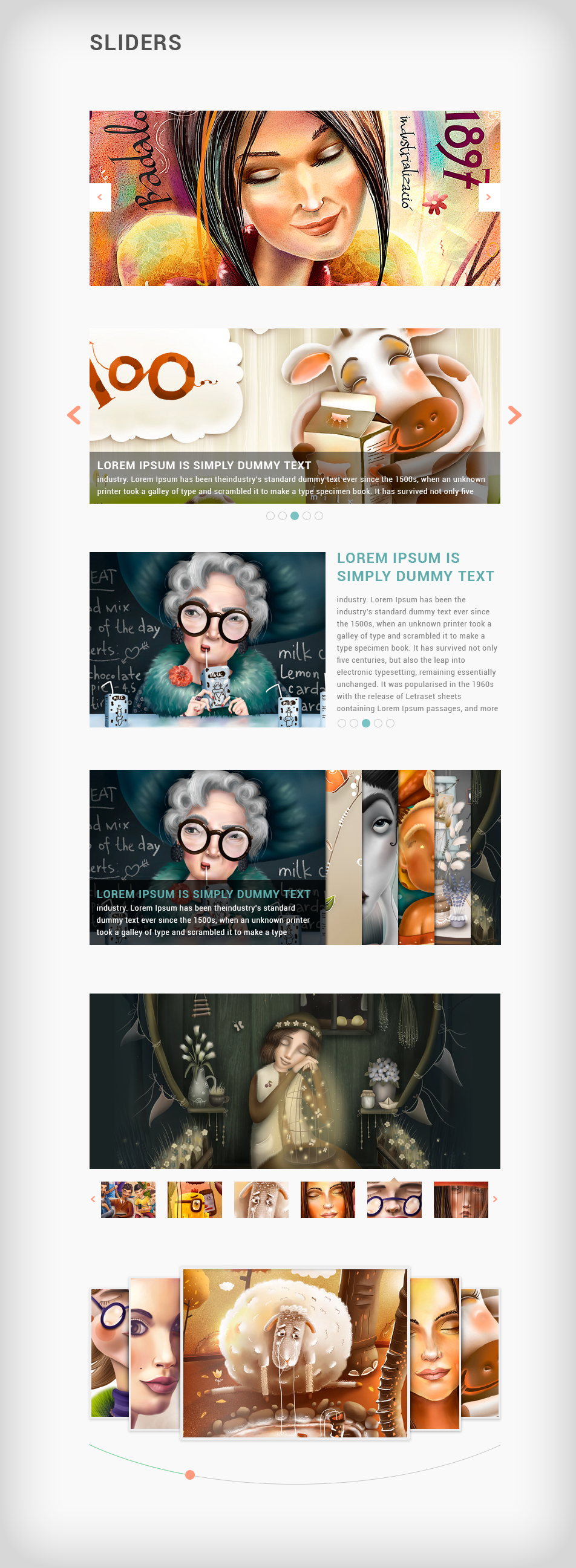 Pixels - clean design for blog & portfolio