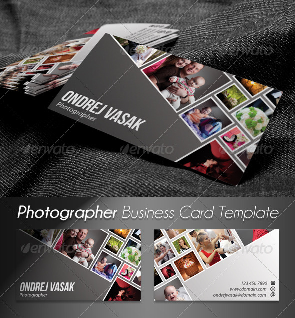 GraphicRiver Photographer Artist Business Card 2 4281701