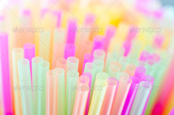 Drinking Straws - Stock Photo - Images