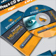 Power Press_CD Sleeve & Sticker - GraphicRiver Item for Sale