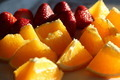 Sliced Oranges & Strawberries - PhotoDune Item for Sale
