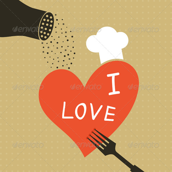GraphicRiver Cooking Love 4411078