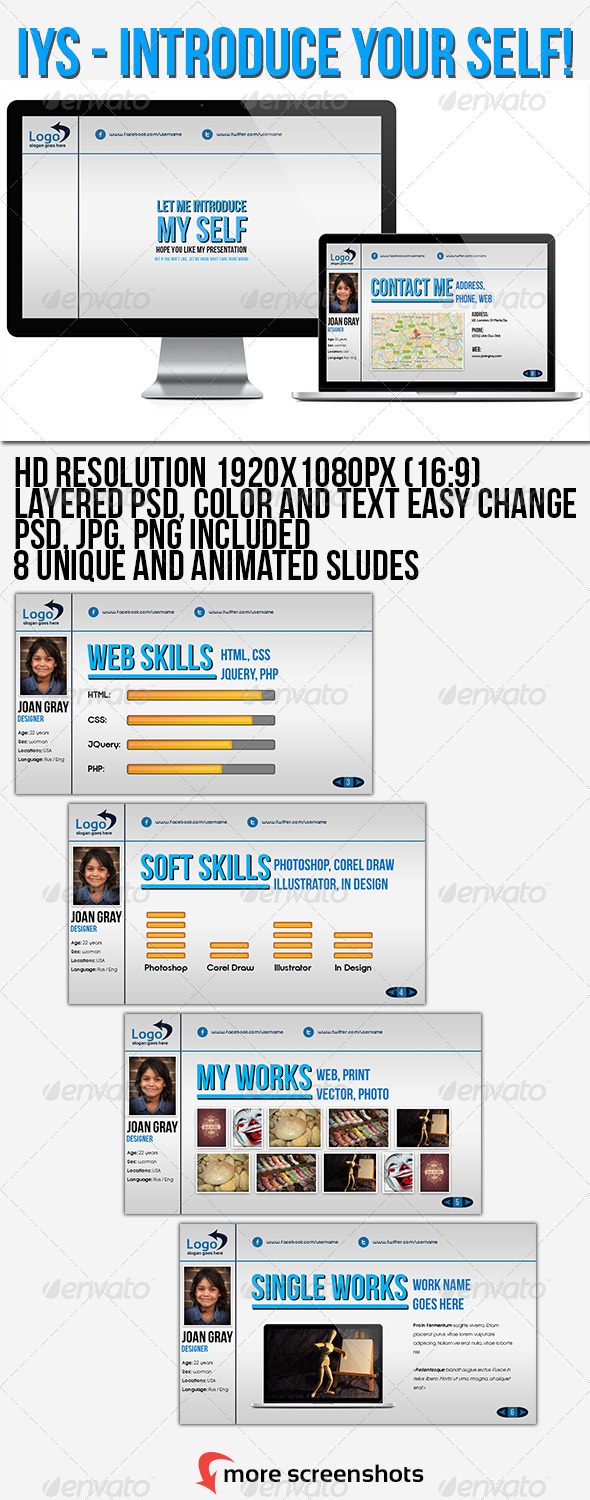 GraphicRiver IYS Powerpoint Presentation 4411360
