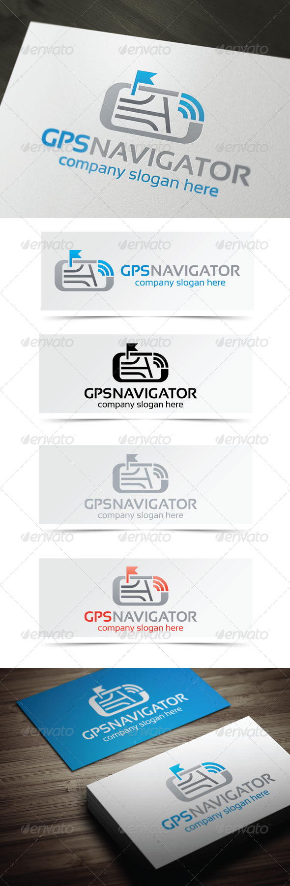 GraphicRiver GPS Navigator 4411501