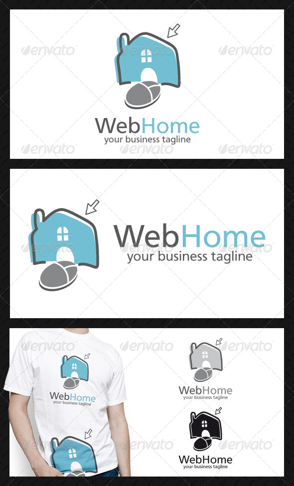 GraphicRiver Web Home Logo Template 4411766