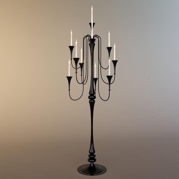 3DOcean Glass Standard Lamp 4411795