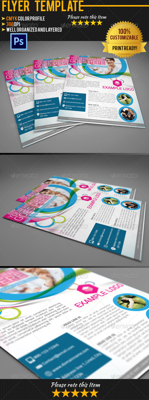 Corporate Business Flyer 001 - Corporate Flyers