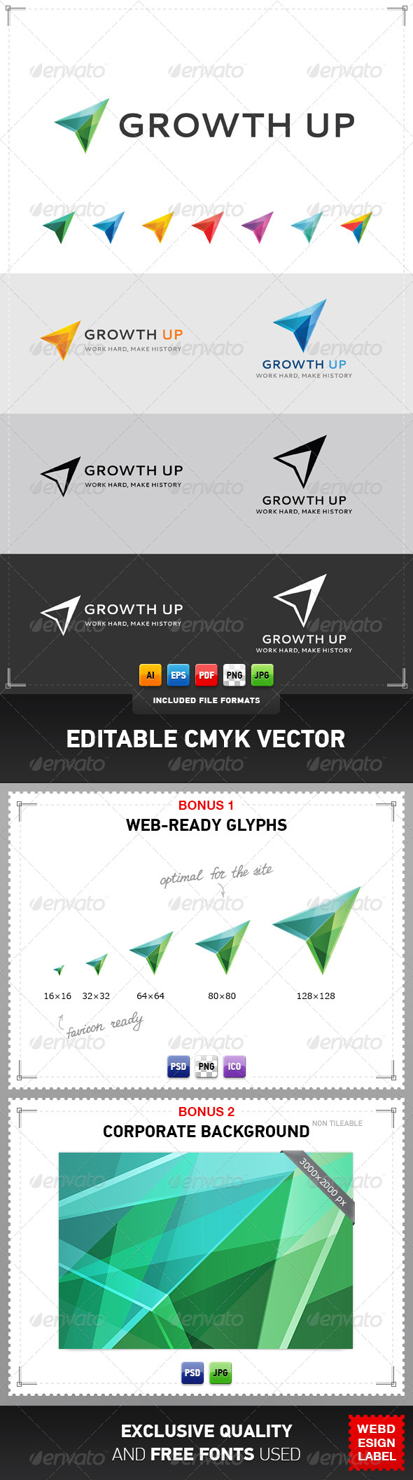 GraphicRiver Growth Up Logo 4322253