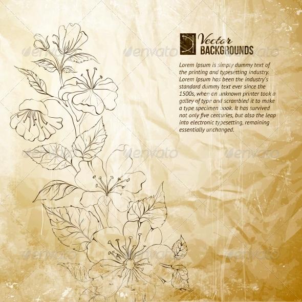 GraphicRiver Spring Sakura 4412301