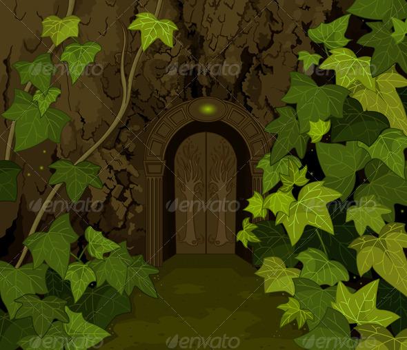 GraphicRiver Gates of Magic Elves Castle 4412759