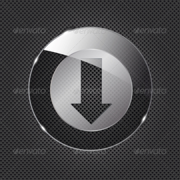 GraphicRiver Glass Download Button 4412924