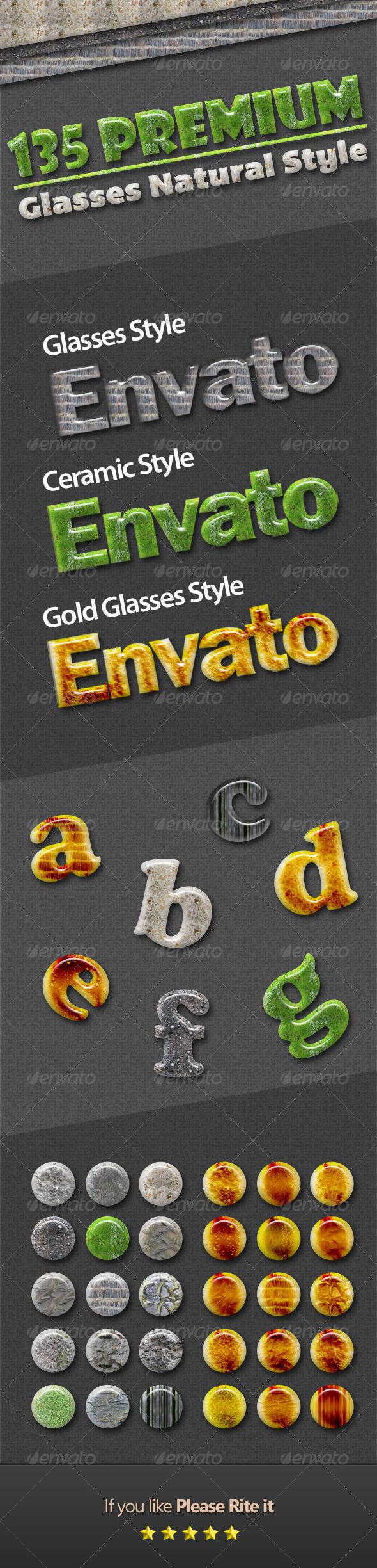 GraphicRiver 135 Premium Glasses Natural Style 4365727