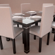 Realistic Dinning Furniture Set