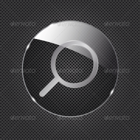 GraphicRiver Glass Search Button 4413235