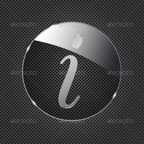 GraphicRiver Glass Information Button 4413251