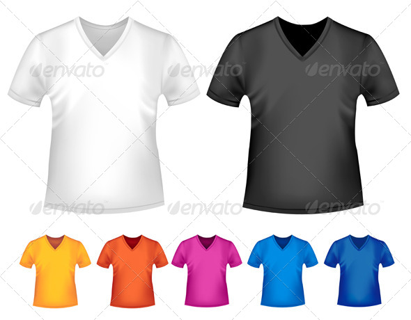 GraphicRiver Men s T-Shirt Design Template 4413638