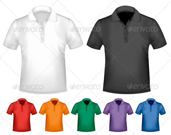 GraphicRiver Men s T-Shirt Design Template 4413645