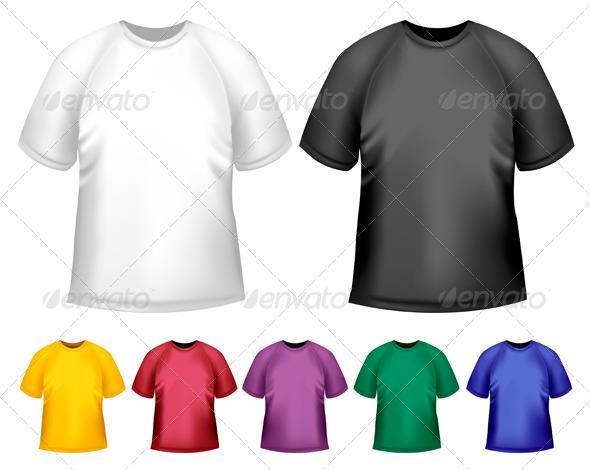 GraphicRiver Men s T-Shirt Design Template 4413649