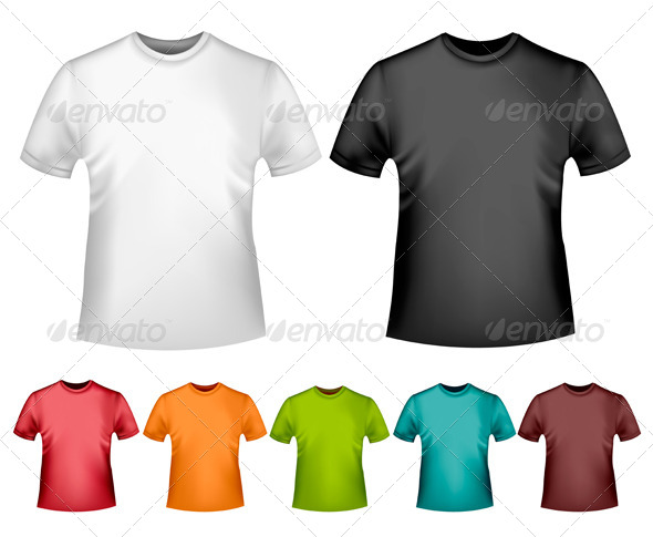 GraphicRiver Men s T-Shirt Design Template 4413689