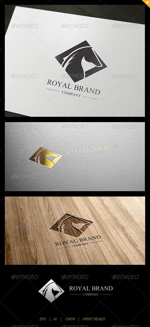 GraphicRiver Horse Royal Brand Logo 1 4413696