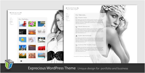 Exprecious - Portfolio Business WordPress Theme
