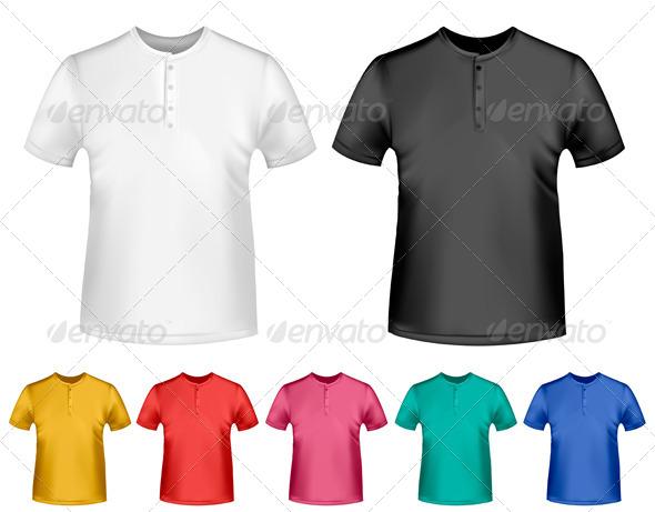 GraphicRiver Men s T-Shirt Design Template 4413834