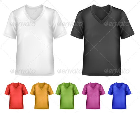 GraphicRiver Men s T-Shirt Design Template 4413932