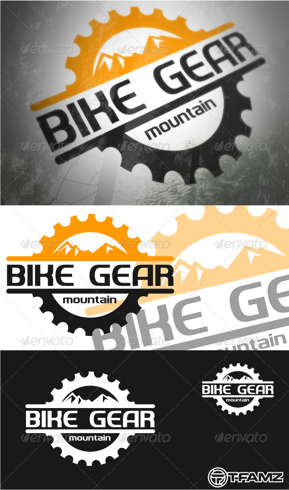 GraphicRiver bike gear 4415108