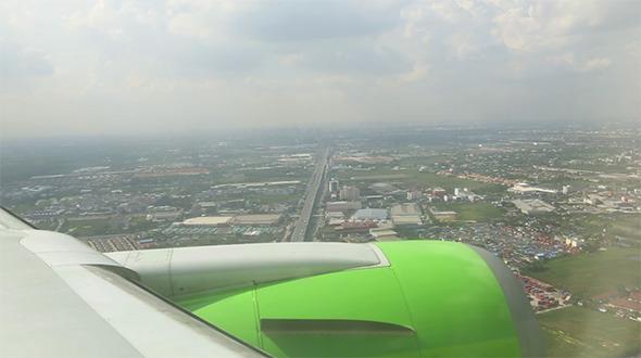 Arriving in Bangkok