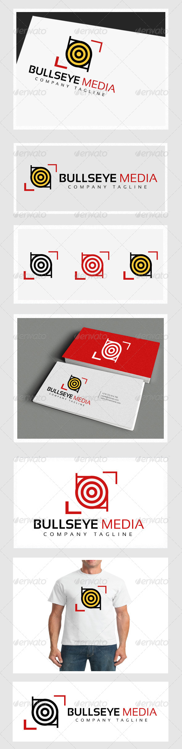 GraphicRiver Bullseye Media 4337988