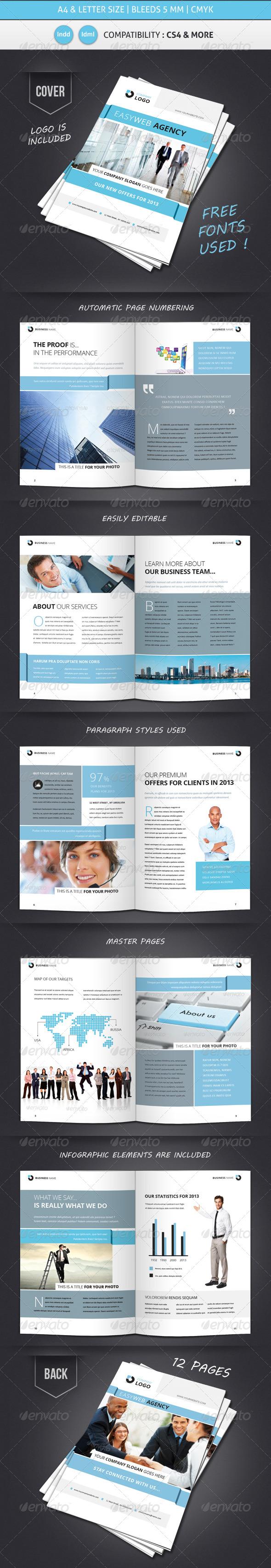 GraphicRiver Corporate & Business Brochure Template Design 4416032