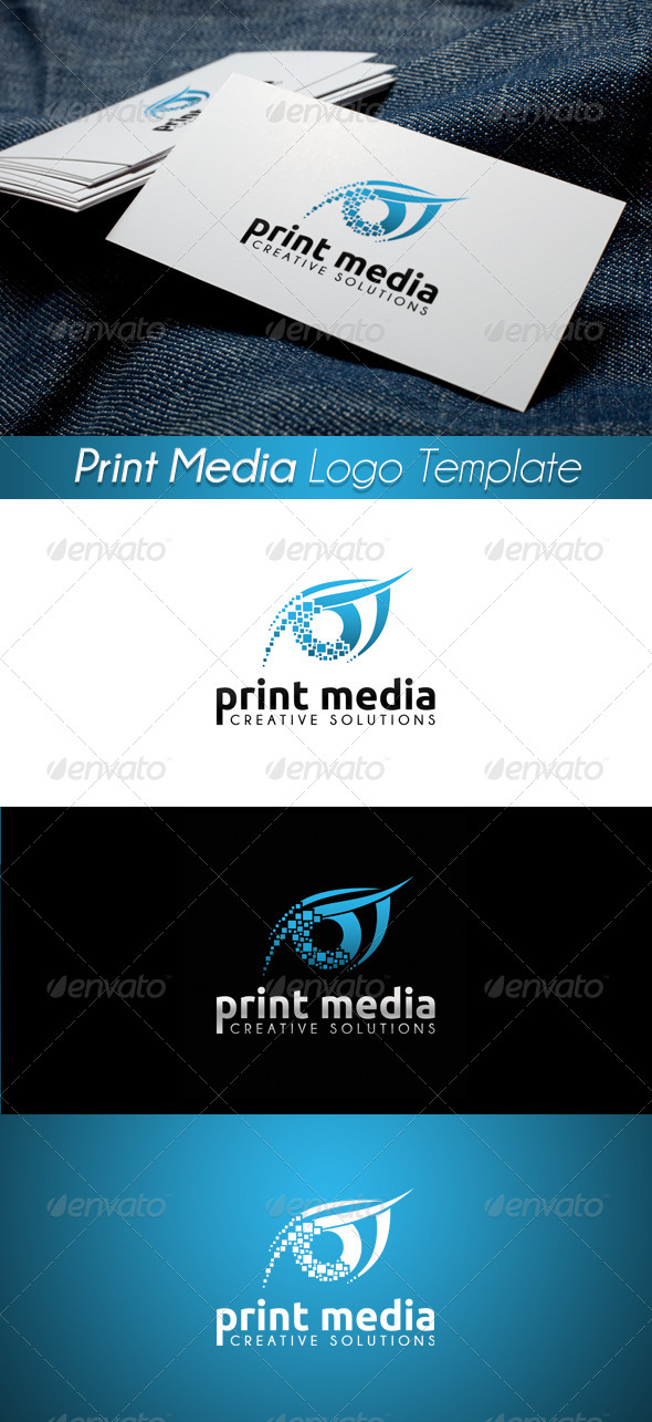 GraphicRiver Print Media Logo 12 4339650