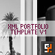 XML Portfolio Template V1.0 - ActiveDen Item for Sale