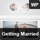 Getting Married - Responsive Wordpress Theme - ThemeForest Item for Sale