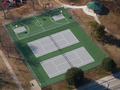 Public Park Tennis and Basketball Courts Aerial - PhotoDune Item for Sale