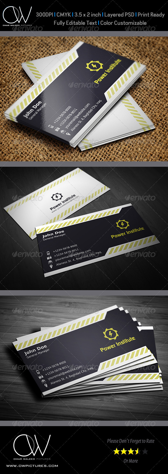 GraphicRiver Corporate Business Card Vol.19 4418533