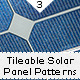 3 Tileable Solar Panel Patterns and 2 Background - GraphicRiver Item for Sale