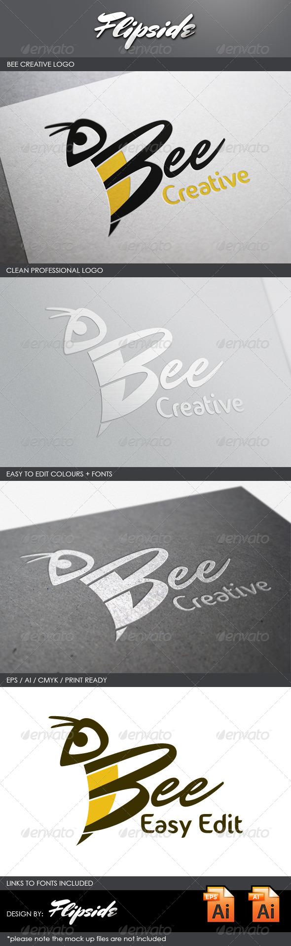 GraphicRiver Bee Creative Logo 4327407