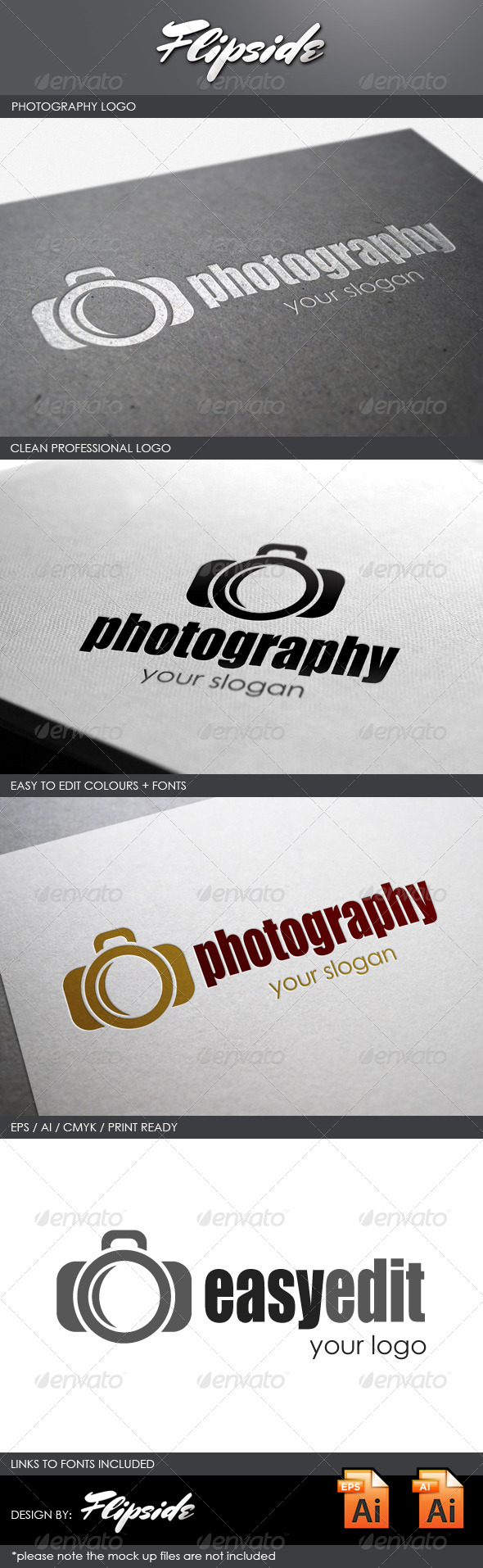 GraphicRiver Photography Studio Logo 4327320