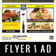 Restaurant - Fastfood Flyer / Magazine AD - GraphicRiver Item for Sale