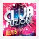 Club Sessions l Party Fusion Flyer - GraphicRiver Item for Sale