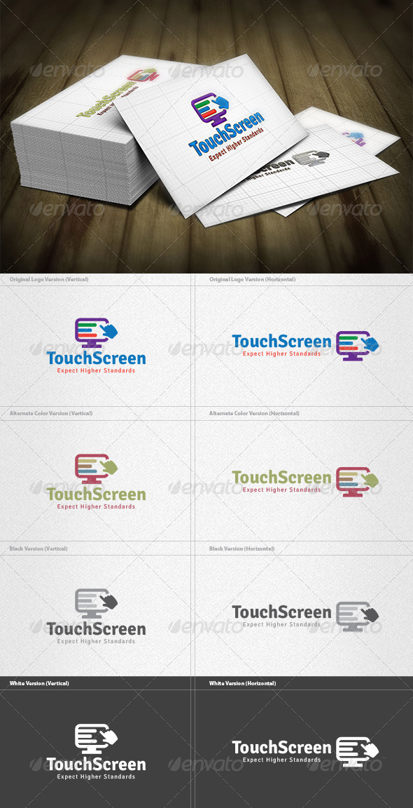 GraphicRiver Touch Screen Logo 4420786