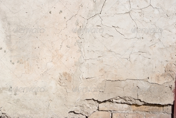 GraphicRiver Background high detailed fragment stone white wall 4420813