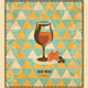 Red Wine Mosaic Pattern - GraphicRiver Item for Sale