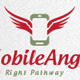 Mobile Angel Logo - GraphicRiver Item for Sale