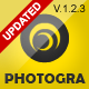 Photogra - Fullscreen Responsive WP Theme - ThemeForest Item for Sale